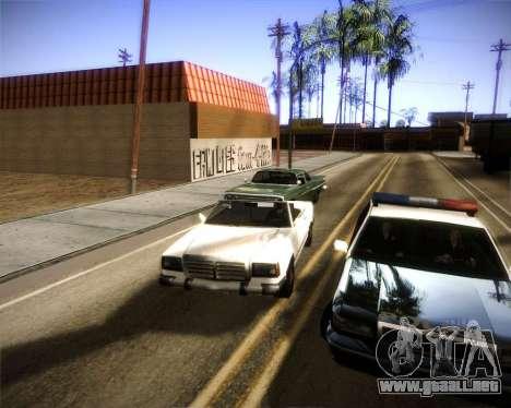 Glazed Graphics para GTA San Andreas segunda pantalla