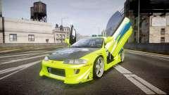 Mitsubishi Eclipse GSX 1995 Furious v3.0 para GTA 4