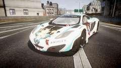 McLaren MP4-12C GT3 Haruhi Itasha para GTA 4
