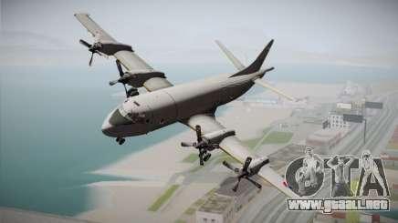 Lockheed P-3 Orion MLD New para GTA San Andreas