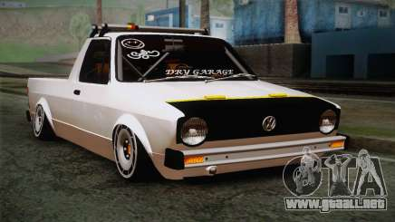 Volkswagen Caddy DRY Garage para GTA San Andreas