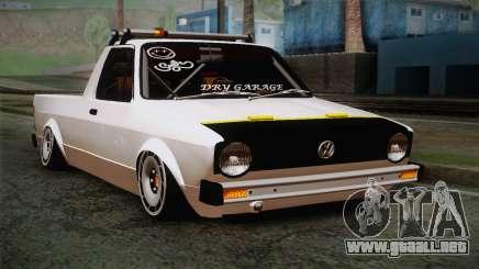 Volkswagen Caddy DRY Garage para GTA San Andreas
