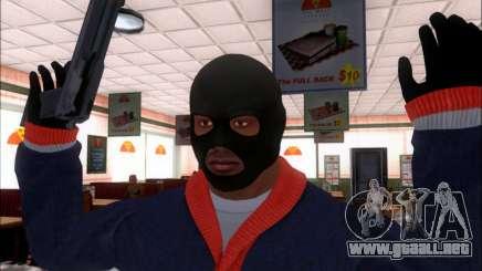Franklin (el Ladrón) de GTA 5 para GTA San Andreas
