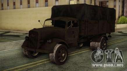 Opel Blitz (CoD: World at War) para GTA San Andreas