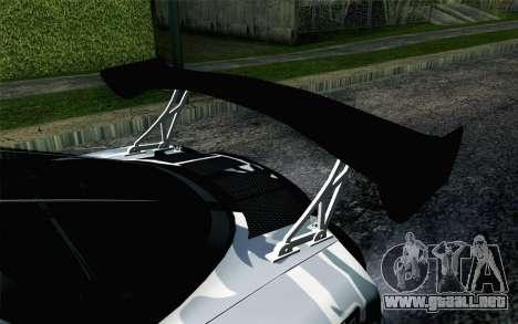 Mazda RX-7 MadMike para GTA San Andreas vista hacia atrás