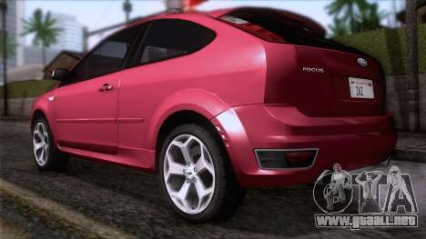 Ford Focus ST Tunable para GTA San Andreas left