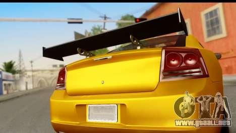 Dodge Charger SRT8 2006 Tuning para la visión correcta GTA San Andreas