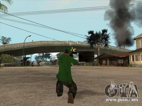 CABLE de Battlefield 3 para GTA San Andreas quinta pantalla