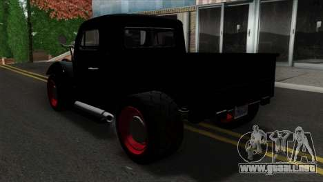 GTA 5 Bravado Rat-Truck SA Mobile para GTA San Andreas left