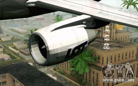 Embraer EMB-175 LOT Polish Airlines para la visión correcta GTA San Andreas