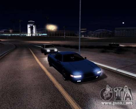 GtD ENBseries para GTA San Andreas sucesivamente de pantalla