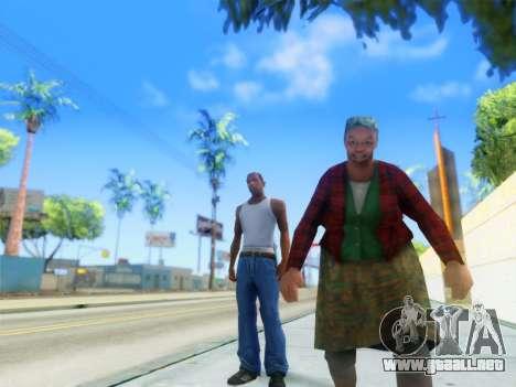 ENB Graphics Enhancement v2.0 para GTA San Andreas segunda pantalla