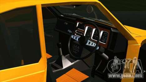 Mitsubishi Minica Skipper para GTA San Andreas vista hacia atrás