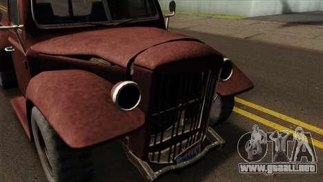GTA 5 Bravado Rat-Loader IVF para la visión correcta GTA San Andreas