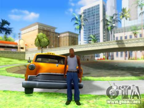 ENB Graphics Enhancement v2.0 para GTA San Andreas sucesivamente de pantalla