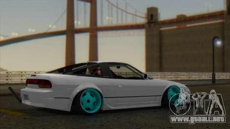 ENB W V2 para GTA San Andreas sucesivamente de pantalla
