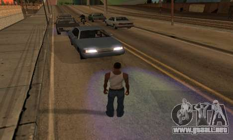 New Effects Paradise para GTA San Andreas octavo de pantalla