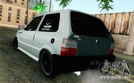 Fiat Uno Fire para GTA San Andreas left