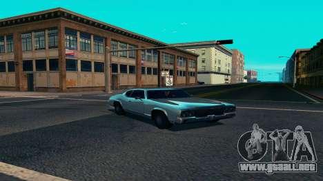 Summers-ENB v9.5 para GTA San Andreas sucesivamente de pantalla