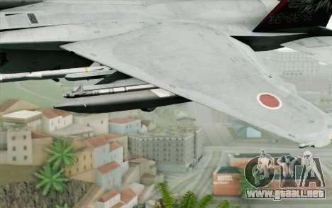 F-15J Kai 60th Anniversary of JASDF para la visión correcta GTA San Andreas