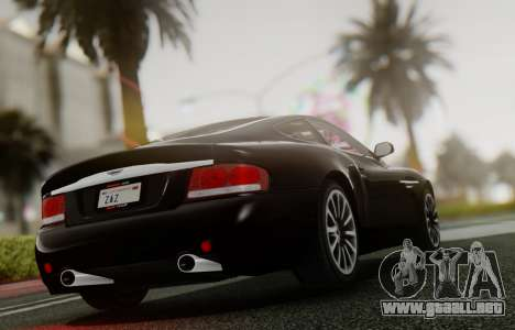 Aston Martin V12 Vanquish 2001 v1.01 para la visión correcta GTA San Andreas