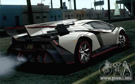 NFS Rivals Lamborghini Veneno para GTA San Andreas left
