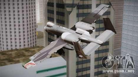 A-10A The Idolmaster -SP- para GTA San Andreas left