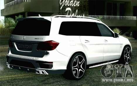 Mercedes-Benz GL63 AMG 2014 para GTA San Andreas left