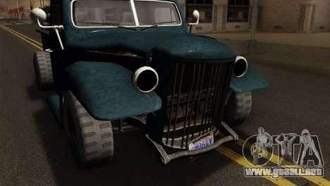 GTA 5 Bravado Rat-Loader para la visión correcta GTA San Andreas