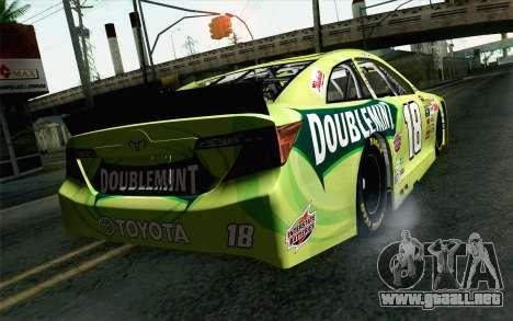 NASCAR Toyota Camry 2013 v4 para GTA San Andreas left
