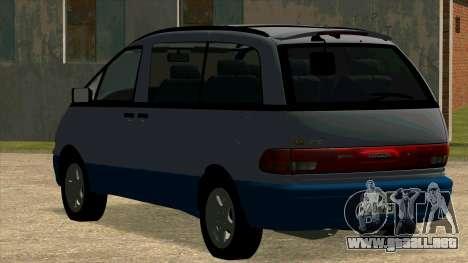 Toyota Estima Lucida 1990 para la visión correcta GTA San Andreas