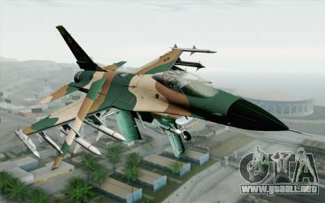 F-16C Fighting Falcon Aggressor 272 para GTA San Andreas