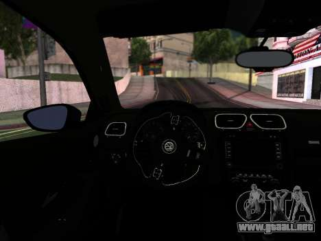 Volkswagen Scirocco Tunable para GTA San Andreas interior