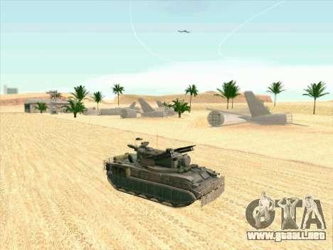C Tunguska para la visión correcta GTA San Andreas
