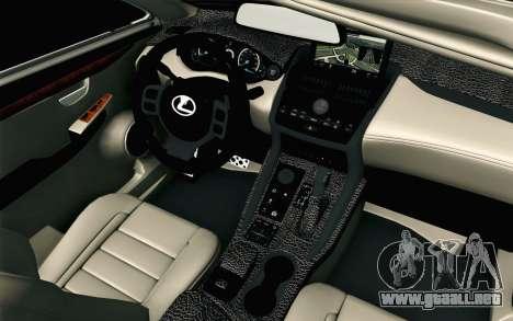 Lexus NX 200T v2 para la visión correcta GTA San Andreas