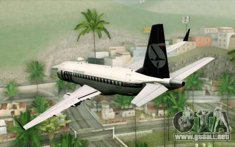 Embraer EMB-175 LOT Polish Airlines para GTA San Andreas left