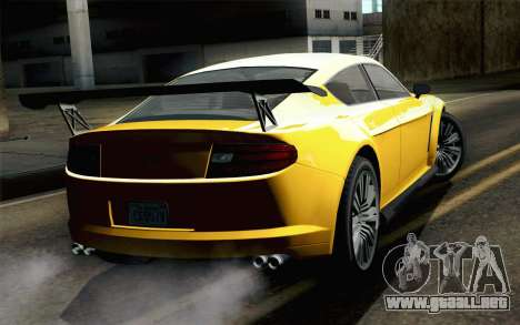 GTA 5 Dewbauchee Exemplar para GTA San Andreas left