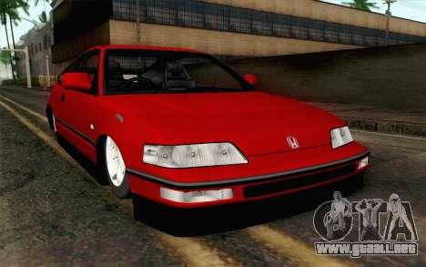 Honda CRX para GTA San Andreas