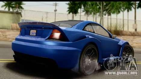 GTA 5 Benefactor Feltzer IVF para GTA San Andreas left