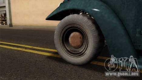 GTA 5 Bravado Rat-Loader para GTA San Andreas vista posterior izquierda