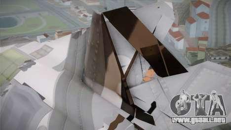 F-15 JASDF 50th Anniversary para la visión correcta GTA San Andreas