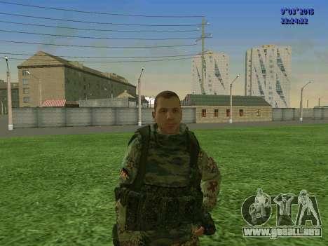 Un luchador de Esparta batallón para GTA San Andreas