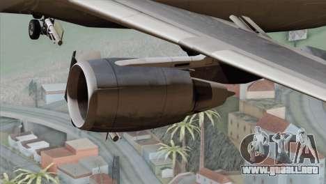 DC-10-30 Garuda Indonesia para la visión correcta GTA San Andreas