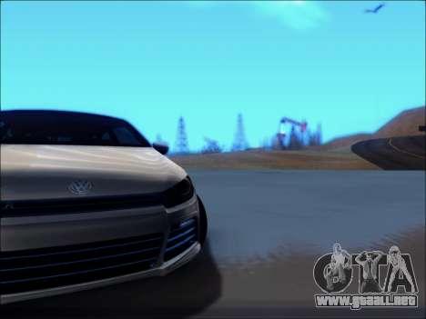 Volkswagen Scirocco Tunable para visión interna GTA San Andreas