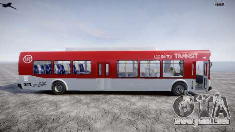 GTA 5 Bus v2 para GTA 4 left