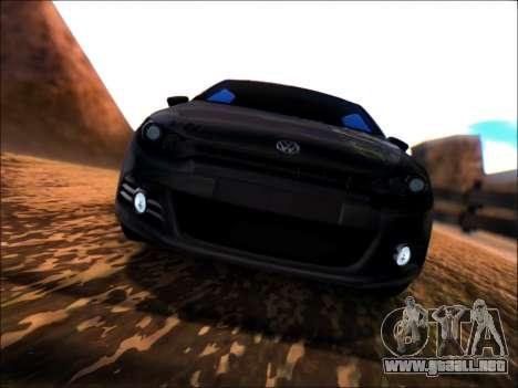 Volkswagen Scirocco Tunable para GTA San Andreas