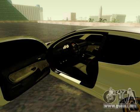 Peugeot 206 Street Racer Tuning para GTA San Andreas vista hacia atrás