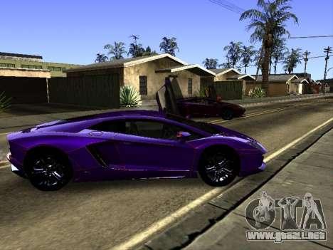 Lamborghini Aventador Tron para vista inferior GTA San Andreas