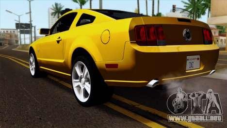 Ford Mustang GT Wheels 1 para GTA San Andreas left