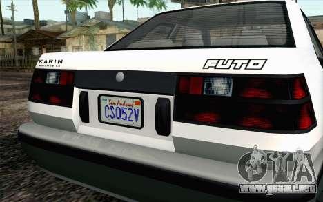 GTA 5 Karin Futo IVF para la visión correcta GTA San Andreas